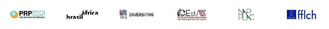 Logomarcas: PRP USP, Nap Brasil África, Diversitas, CEstA, NAPPLA, fflch